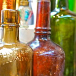 Vintage Bottles and Glass